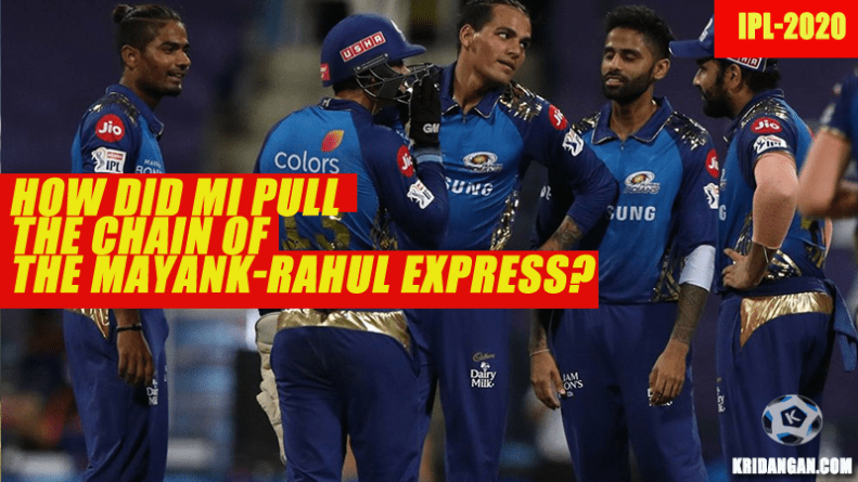 How did MI pull the chain of the Mayank-Rahul express