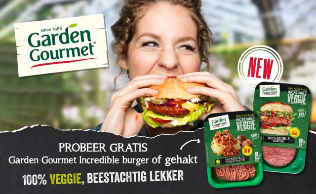 Gratis Garden Gourmet Incredible Burger