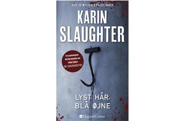 Karin slaughter lyst hår blå øjne