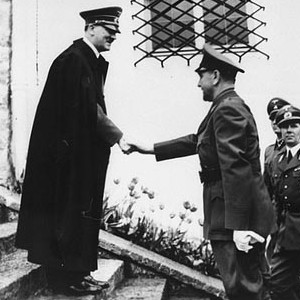 Анте Павелич се среща с Адолф Хитлер