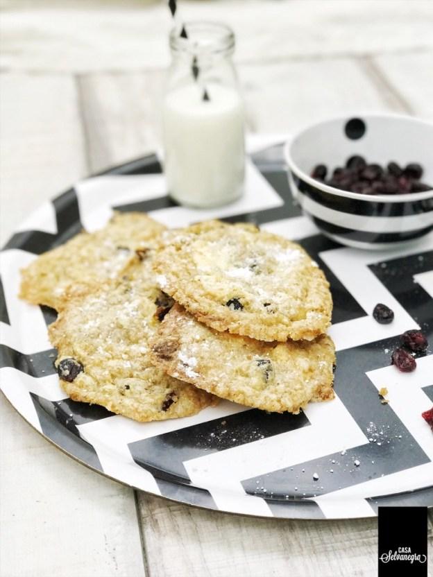 Schokolade Cranberry Cookies Kekse Bloggeburtstag Gastbeitrag krimiundkeks