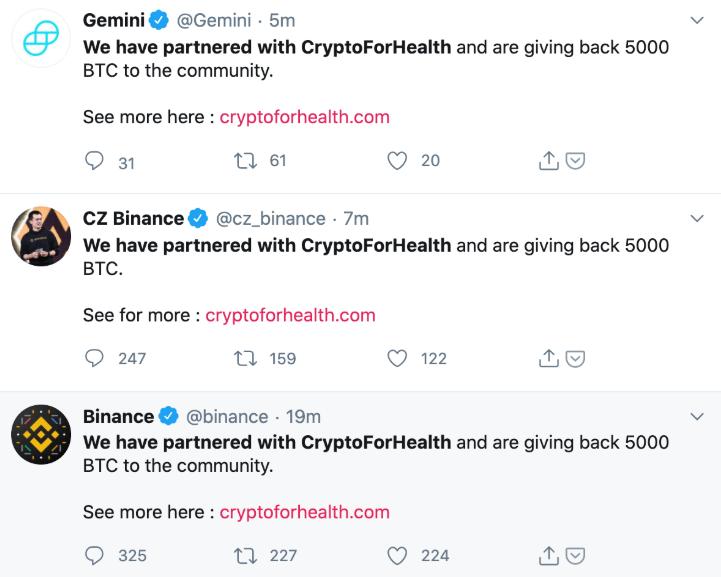 Dev Bitcoin Borsalarının Twitter Hesapları Hacklendi!