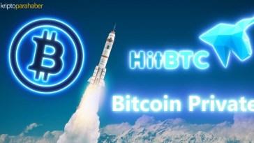 HitBTC ve Bitcoin Private geliştiricileri arasındaki anlaşmazlık BTCP'ye baskı yapıyor