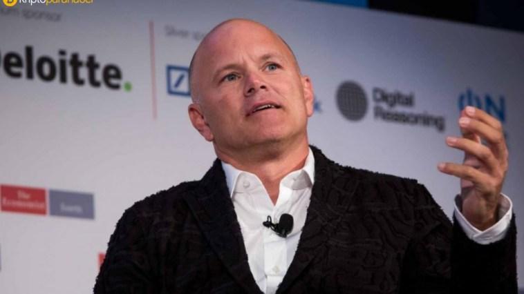"Galaxy Digital Holdings CEO'su: ""Bitcoin rallisini iki şirket başlattı."""