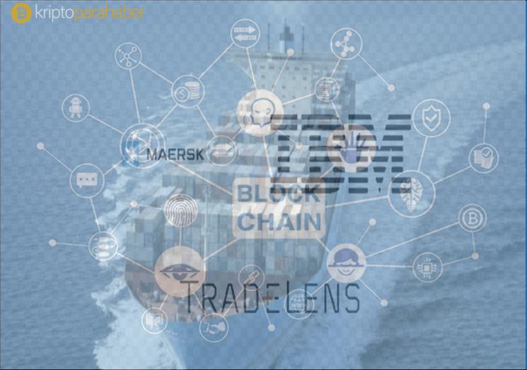IBM ve nakliye devi Maersk, küresel ticaret Blockchain platformuna TradeLens ismini verdi.