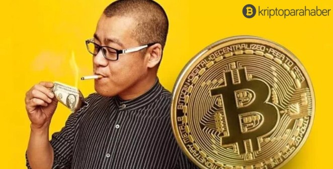 """Bitcoin milyarderi: """"Bugünden itibaren Li Xiaolai, Blockchain'e yatırım yapmayacak."""""""