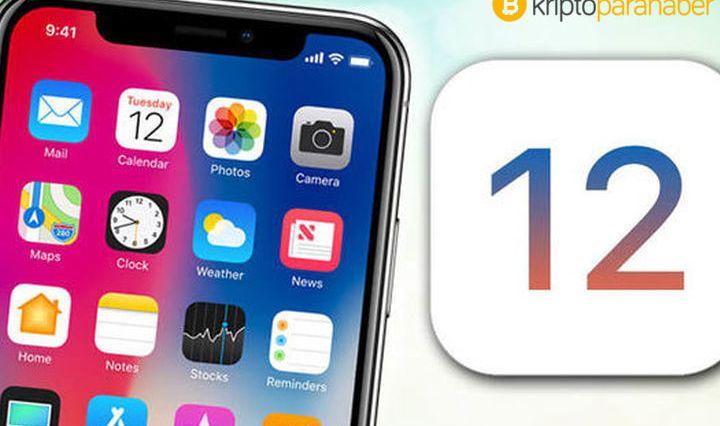 Apple yeni işletim sistemi iOS 12'ye Bitcoin gliflerini ekledi