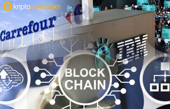 Carrefour markalı ürünlerdeki güveni vurgulamak için Blockchain teknolojisini kullanacak