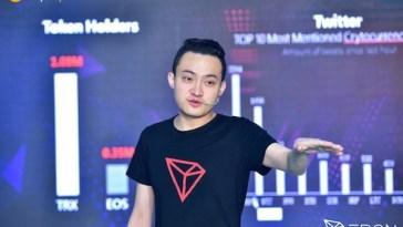 """TRON CEO'su Justin Sun: """"Genç nesil yatırımcılar için harika fırsatlar var."""""""