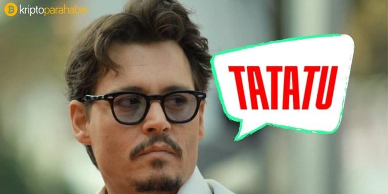 Johnny Depp, Blockchain'in Netflix'i ile işbirliği yapıyor
