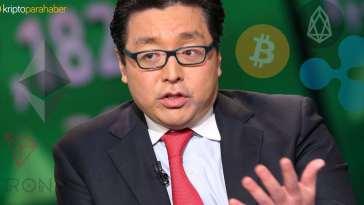 Bitcoin boğası Tom Lee'den yeni BTC fiyat tahmini