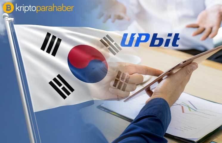 Güney Kore İnternet ve Güvenlik Ajansı (KISA)Upbit Borsası'na lisan verdi