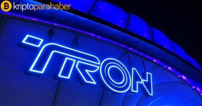 TRON (TRX) günde 2 milyon dolarlık işlemleri ölçekleyebilir