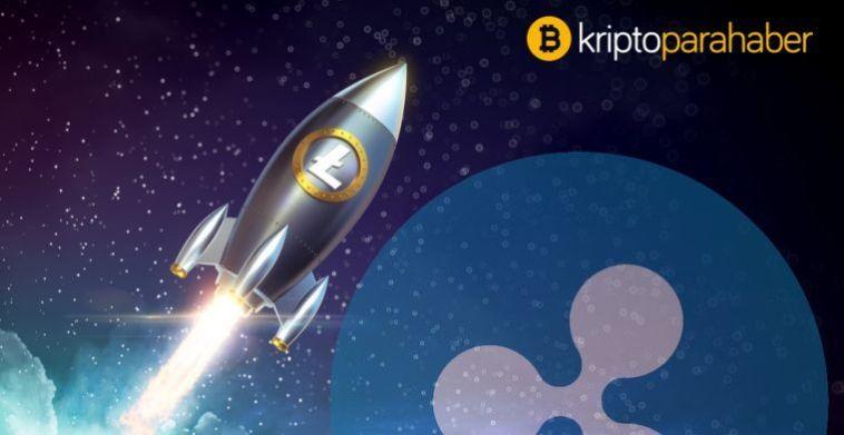 Litecoin 2019'un sonunda doğru XRP'yi geçebilir