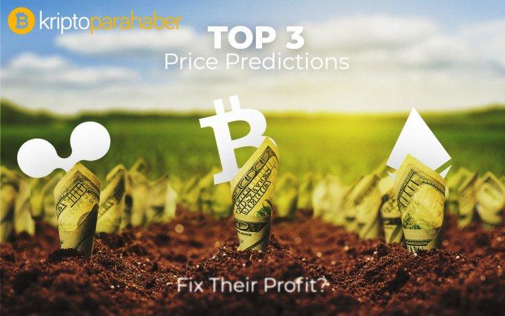 TOP 3 Fiyat Tahmini: BTC, ETH, XRP - Hayati Destek Seviyelerini Konsolide edebilecek mi yoksa düşecek mi?
