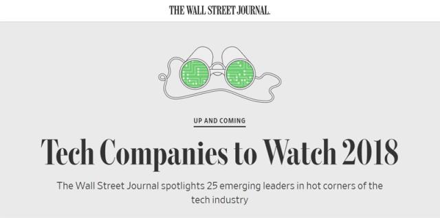 Пять блокчейн-компаний попали в рейтинг WSJ