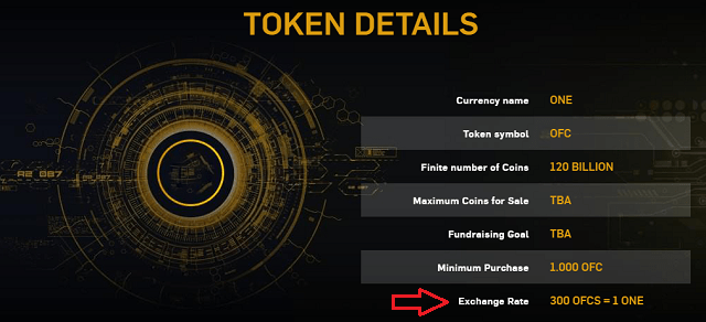 one coin listing