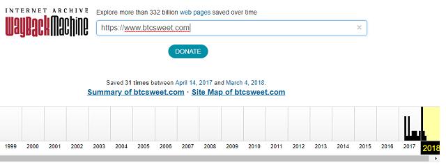 web-archive-btcsweet
