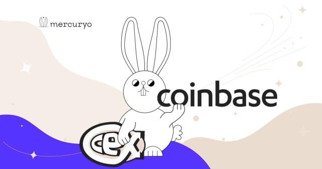 Крипто гаманець «Mercuryo» оголосив про співпрацю з двома біржами: CoinBase і CEX