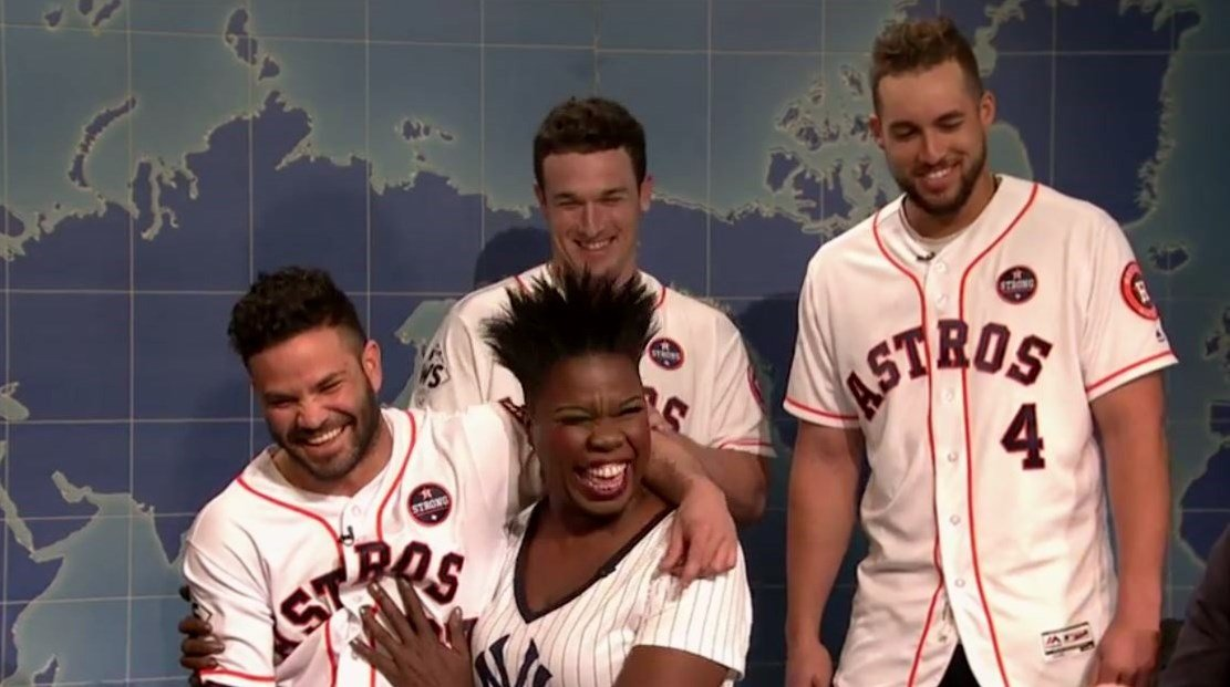 Image result for houston astros on SNL
