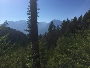 Views of the tantalus range