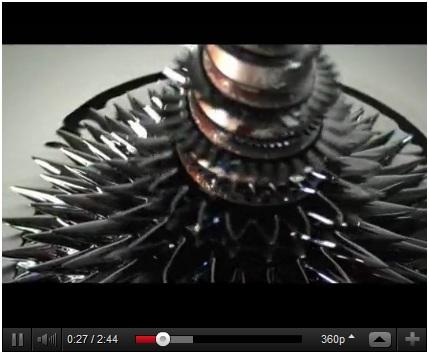 Magnetic Liquid Kinetic Sculpture video