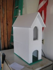 Finished Pet House - Front View