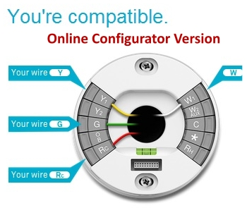 Nest: Your Custom Wiring Diagram Guide - online configurator version wire color