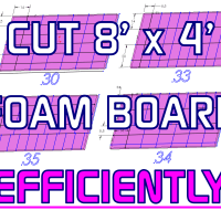 How To: Efficiently Cut 4x8ft Foam Boards & Insulate a Band Joist