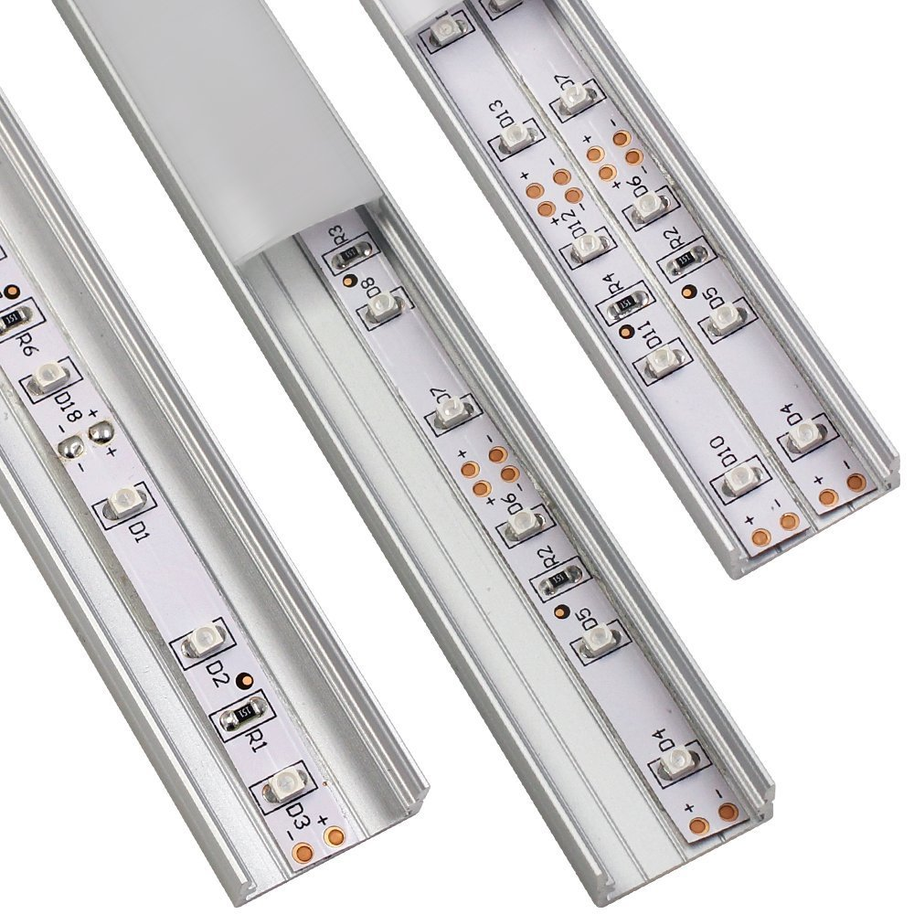 Torchstar U07 Aluminum LED channel, double strip