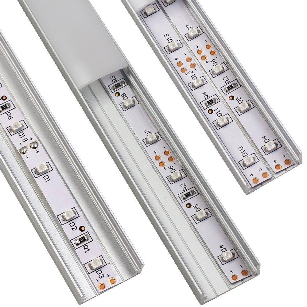 Torchstar U07 Aluminum LED channel, double strip
