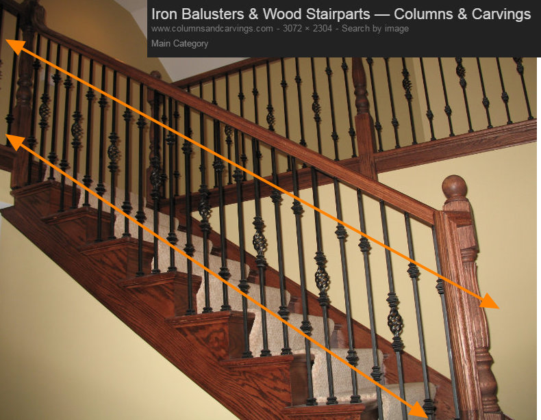 STAIRCASE BALUSTER DESIGN LINES 2