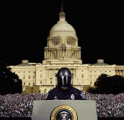"""«Schlüsselfertige Tyrannei"""" auf den Straßen von Washington"""