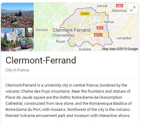 Clermont-Ferrand France