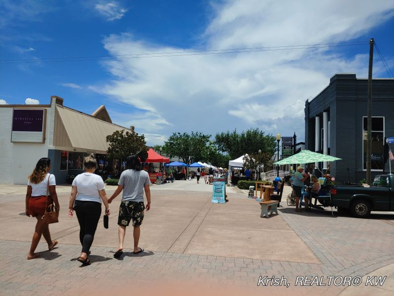 Downtown Clermont FL | South Lake Downtown Area
