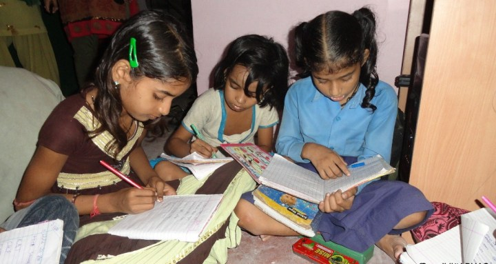 Girls-studying