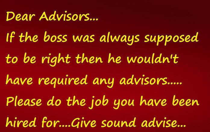 Advisors