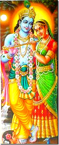 The spiritual world means association with Krishna