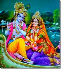 Radha and Krishna, pure love