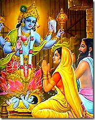 Krishna with His parents