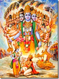 Krishna and His many forms