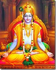 Lord Krishna - the master of yoga