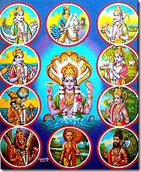 Vishnu avataras
