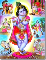 Lord Krishna and His pastimes