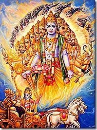 Krishna as the original fire