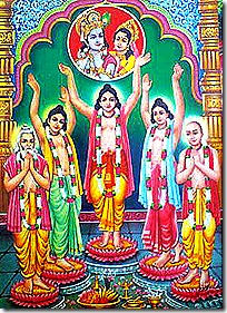 Practicing bhakti-yoga