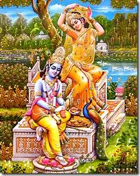 Krishna with Radha
