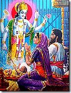 Krishna's advent