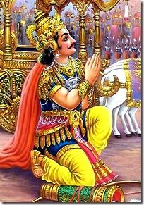Arjuna in distress