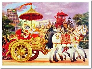 Krishna kidnapping Rukmini